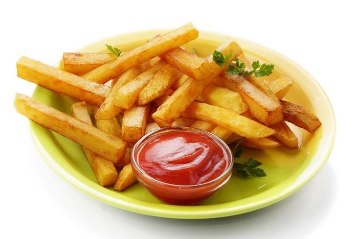 potassium in potato chips