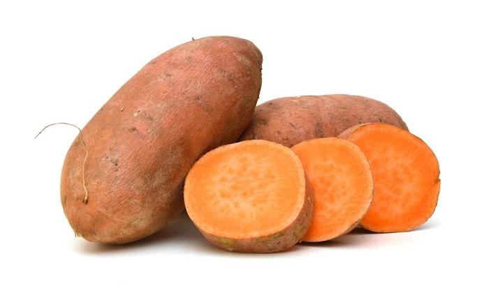 potassium in sweet potato