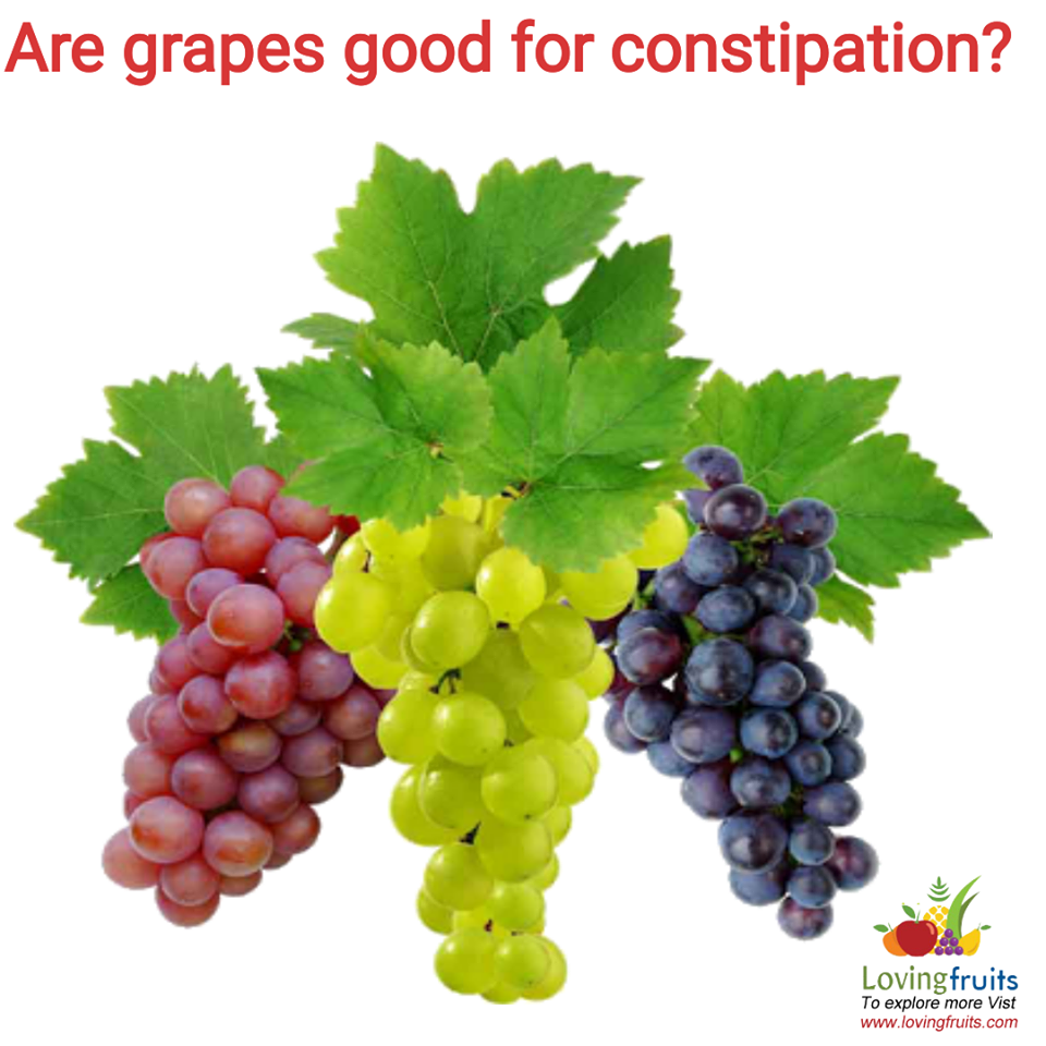 grapes for constipation