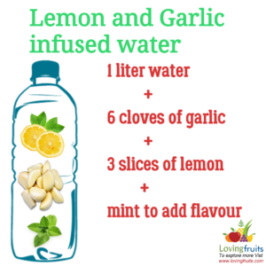 garlic lemon detox